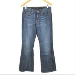 J Crew Jeans Boot Cut Classic Fit Stretch Wms 30S